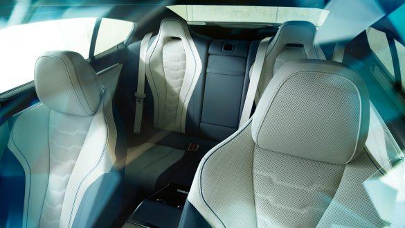 BMW 8er Gran Coupé zwei Sitze im Fond