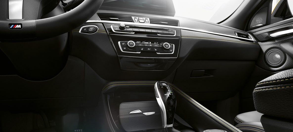BMW X2 2018 F39 Interieur Mittelkonsole