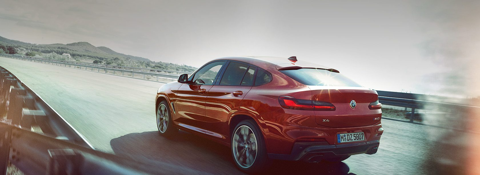 BMW X4 Heck