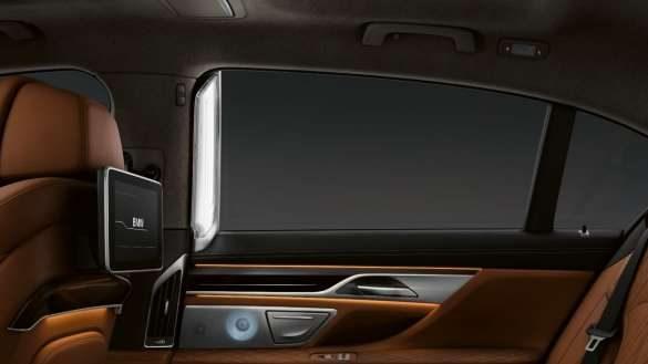 BMW 7er Limousine ambienter Lichtakzent
