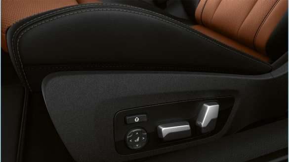 BMW 8er Coupé Einstellmöglichkeiten Fahrer- und Beifahrersitz