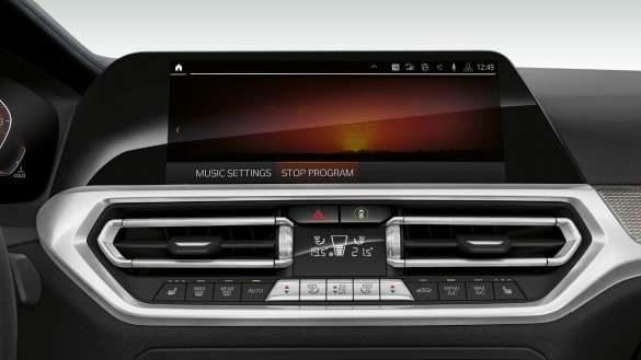 BMW 3er Limousine Innenraumfunktionen