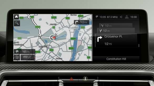 BMW X3 M Automobile F97 G01 LCI Facelift 2021 BMW Live Cockpit Professional